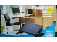 Office adjustable footrest