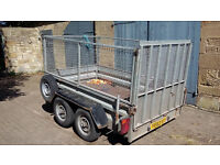 Indespension 8x5 trailer with full mesh kit