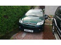 2005 Citroën c4 long mot need it gone