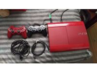 Sony playstation 3 500gb in Red