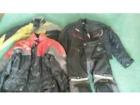 Hein Gericke motorbike trousers and additional Jackets