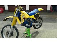 RM 125 1987 2 stroke