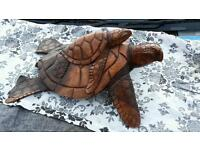 Carved turtle