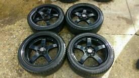 """Lenso Wheels 4x100/4x110 17"""" et35"""