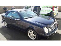 2001 Mercedes clk 320 avantgarde convertible automatic petrol mot may 2019