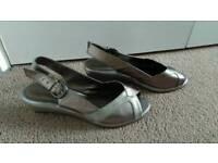 Footglove metalic shoes