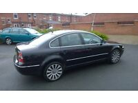 VW PASSAT HIGHLINE FULL LEATHER 10 MONTHS MOT VERY CLEAN THROUGHOUT FIRST TO SEE WILL BUY, LEATHER