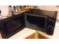 Clean Working Microwave