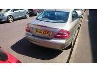 Mercedes CLK320 AVANTGARDE, auto excellent condition, CLK number plate!!!!!! £1300 quick sale.