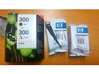 301 HP Ink Cartridges - Colour & Black (Colour only opened, black sealed) HP ENVY 5530 printer