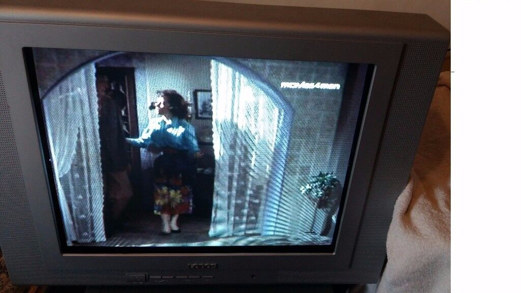 LODOS 21 Realflat Television with remote -£25