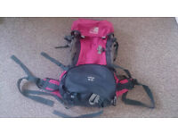 KARRIMOR WILDCAT 60-65L RUCKSACK BACKPACK in very good condition GREAT OFFER!