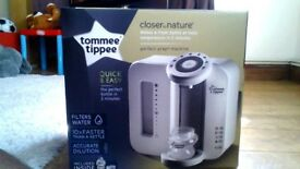 Tommee Tippee Perfect Prep Machine PLUS!!! Essential Starter Set £25 eah or £40 for both!!