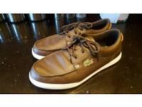 Men's lacoste loafers 9