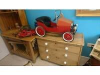 Lovely old pedal car
