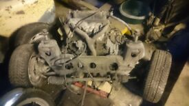 Classic mini 998 engine and gearbox complete