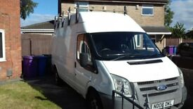 Ford transit LWB with high roof