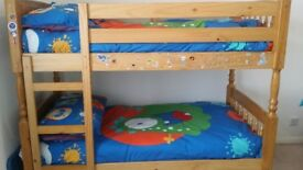 BUNK BED PINE VERY GOOD CONDITION
