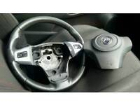 Vauxhall Corsa D SXI Leather Steering Wheel with Airbag