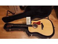 Taylor 510CE Electro Acoustic Guitar (Beautiful Tone! - Watch demo of actual guitar)