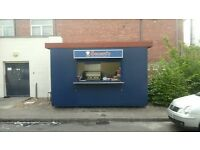 Static Catering Unit/Catering Kiosk/Trailor 13ft x 9ft