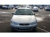 ROVER 200 1.4 214 SI S Reg. MOT Silver Great drive 2 PREVIOUS OWNER FROM NEW Bargain