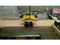 Sedgewick sm3 spindle moulder with holz-her power feed.