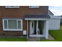 Fabulous 3 bed newly refurbished house.£595 per month.
