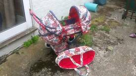 Toy pram/buggy