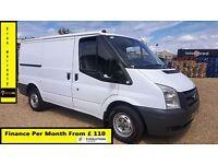 Ford Transit Van 2.2 300 -1 Owner Ex BT- FSH 6 Stamps -1YR MOT-51K Miles Only - ELEC WINDOW 260 280