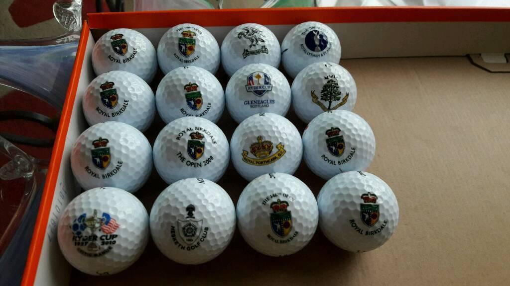 Titleist logo golf balls royal birkdake etc