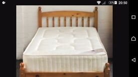 SOLID PINE SINGLE BED - Just £75 + FREE DELIVERY