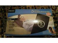 Back massager and heat pad
