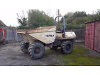 6 ton dumper terex dumper 2005/06