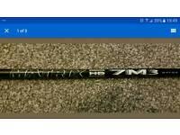 Matrix black tie 7m3 stiff driver shaft