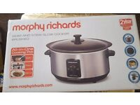 Morphy Richards Slow Cooker - BRAND NEW!