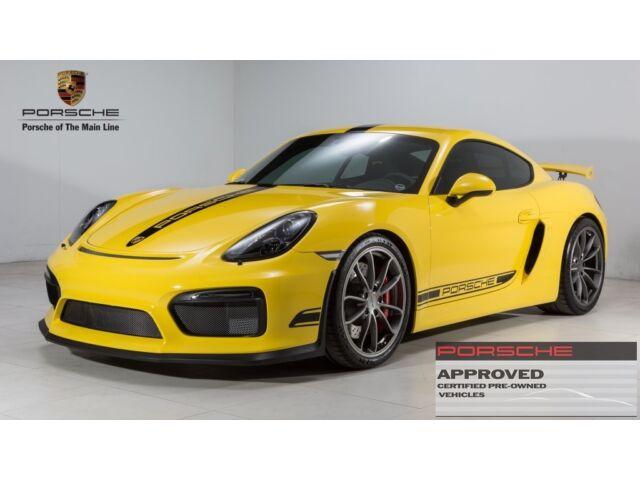 Imagen 1 de Porsche Cayman yellow