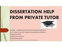 Dissertation Help, Dissertation Tutor, Dissertation writing help, Guidance, proofreading, editing