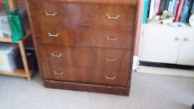 1950s chest of Draws.