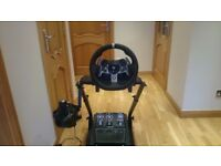 G920 Logitech Steering wheel with Pedals and Gear Shifter