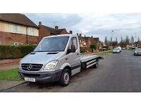 Mercedes Sprinter 313, 2.2cdi LWB,Euro 5, new 16 ft recovery body