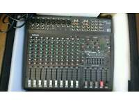 Yamaha Powered Mixing Desk and Speakers