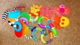 Baby teething toys