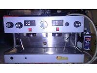WEGA COFFEE MACHINE PLUS GRINDER AND ACC