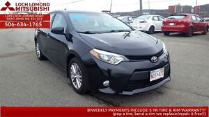 2014 Toyota Corolla LE ECO - LOADED only $148/BW