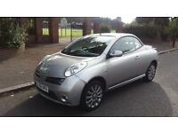 NISSAN MICRA (SPORT) CONVERTIBLE - 06-REG - 2006 (NEW SHAPE) 2 DOOR - 1.6 LITRE - £1295