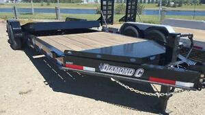 2017 Diamond C 48 HDT LP-22 Equipment Hauler Trailer