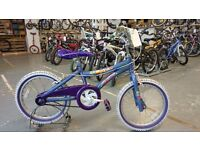 GIRLS EQUATOR MAUI MISS BIKE 18 INCH WHEELS VERY GOOD CONDITION