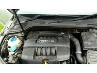Audi a3 1.6 engine plus loom and gearbox