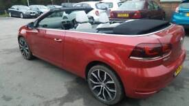 2012 VOLKSWAGEN GOLF 1.4 GT TSI CONVERTIBLE CABRIOLET SIMILAR TO EOS A3 1 SERIES